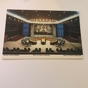Older-Postcard-United-Nations-New-York-City-Security-Council-Chamber