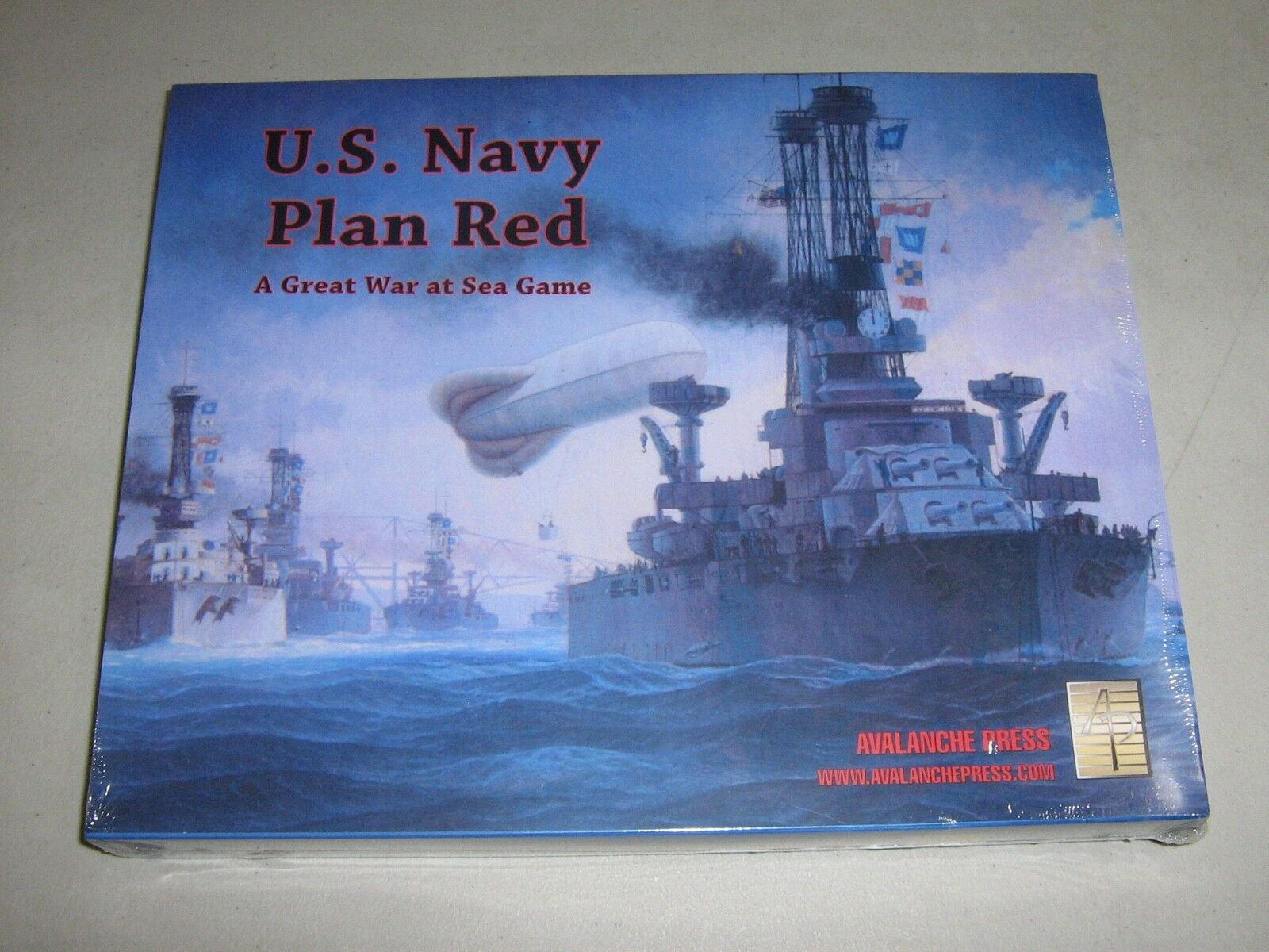 U.S. Navy Plan rot  A Great War at Sea Game (New)