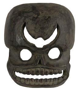 Maschera-Citipati-Testata-Da-Morto-Legno-Himalaya-Animista-Sciamano-Tim-E