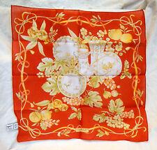 Salvatore Ferragamo Italian Designer Pochette Cotton Scarf - BNIB