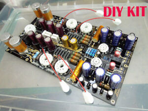 NEW-Biliary-tube-amp-drive-low-resistance-large-box-and-kilo-ohm-headphone-KIT