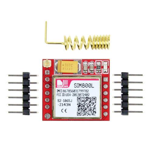 SIM800L GPRS GSM Module MicroSIM Card Wireless Board Quad-band TTL Serial Port