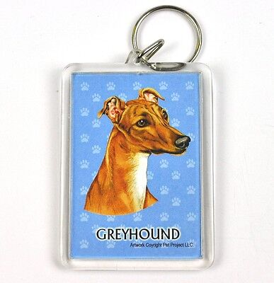 Süßer Hunde Usa Schlüsselanhänger - Greyhound HeißEr Verkauf 50-70% Rabatt