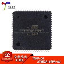 5PCS X ATMEGA169PA-AU MCU 8BIT AVR 16K TQFP-64