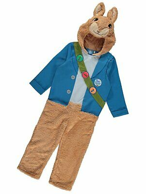 George Bing Kids Hooded Fancy Dress Outfit Costume World Book Day