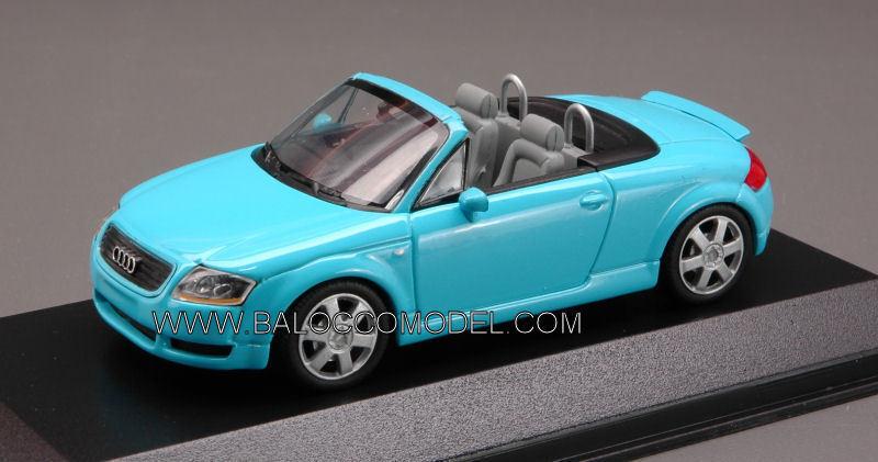 Audi TT Roadster Turquoise 1 43 Model 430017233 MINICHAMPS