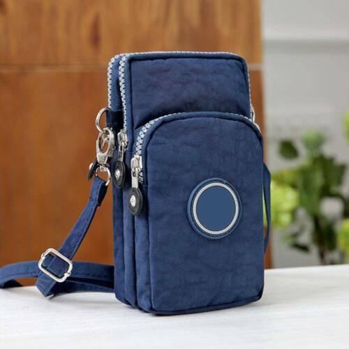 Cross-body Mobile Phone Shoulder Bag Pouch Case Purse Wallet Belt Handbag New