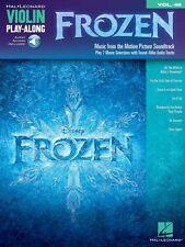 Frozen Violin Play-Along Book Audio Online NEW 000126478