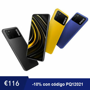 Xiaomi Poco M3 4GB 128GB 48MP 6,53'' 6000mAh Smartphone Doble SIM Versión Global