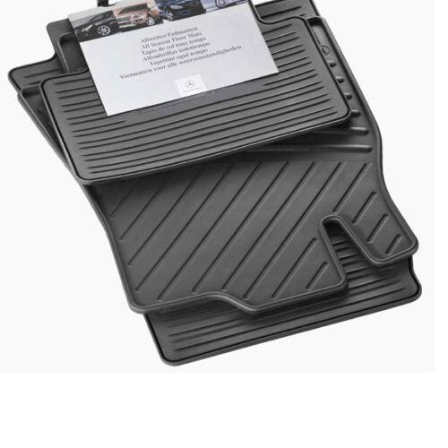 Original Mercedes-Benz Gummimatten B-Klasse W245 Allwetter Fußmatten Satz NEU