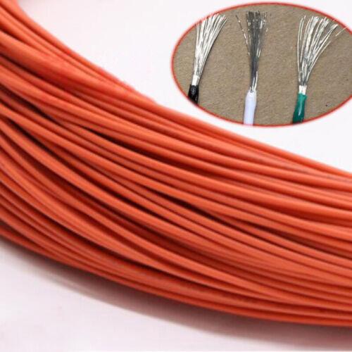 Orange Equipment wire À faire soi-même FIL Électrique Câble Flexible UL1007 16-30AWG