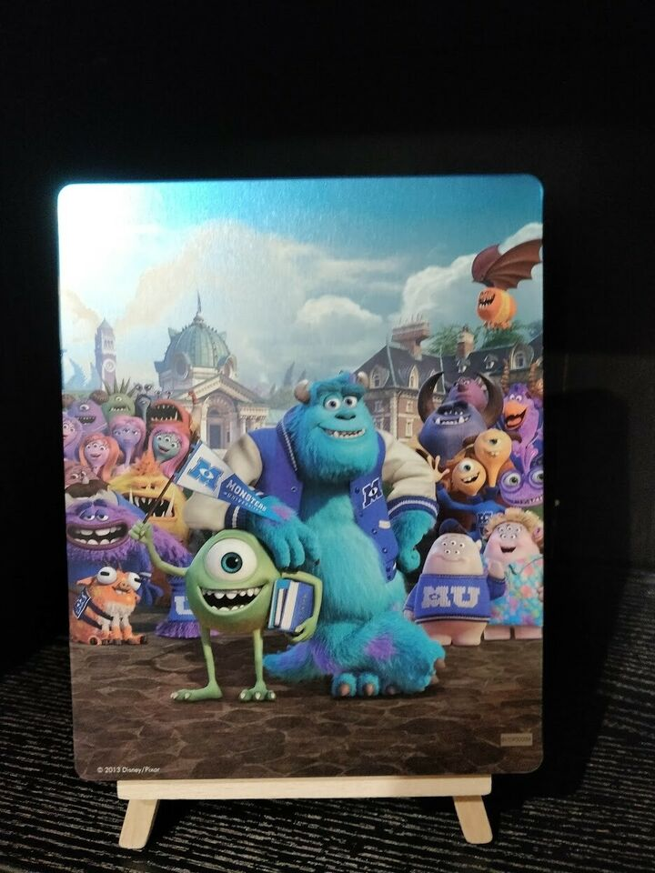 Monsters university steelbook, Blu-ray, animation