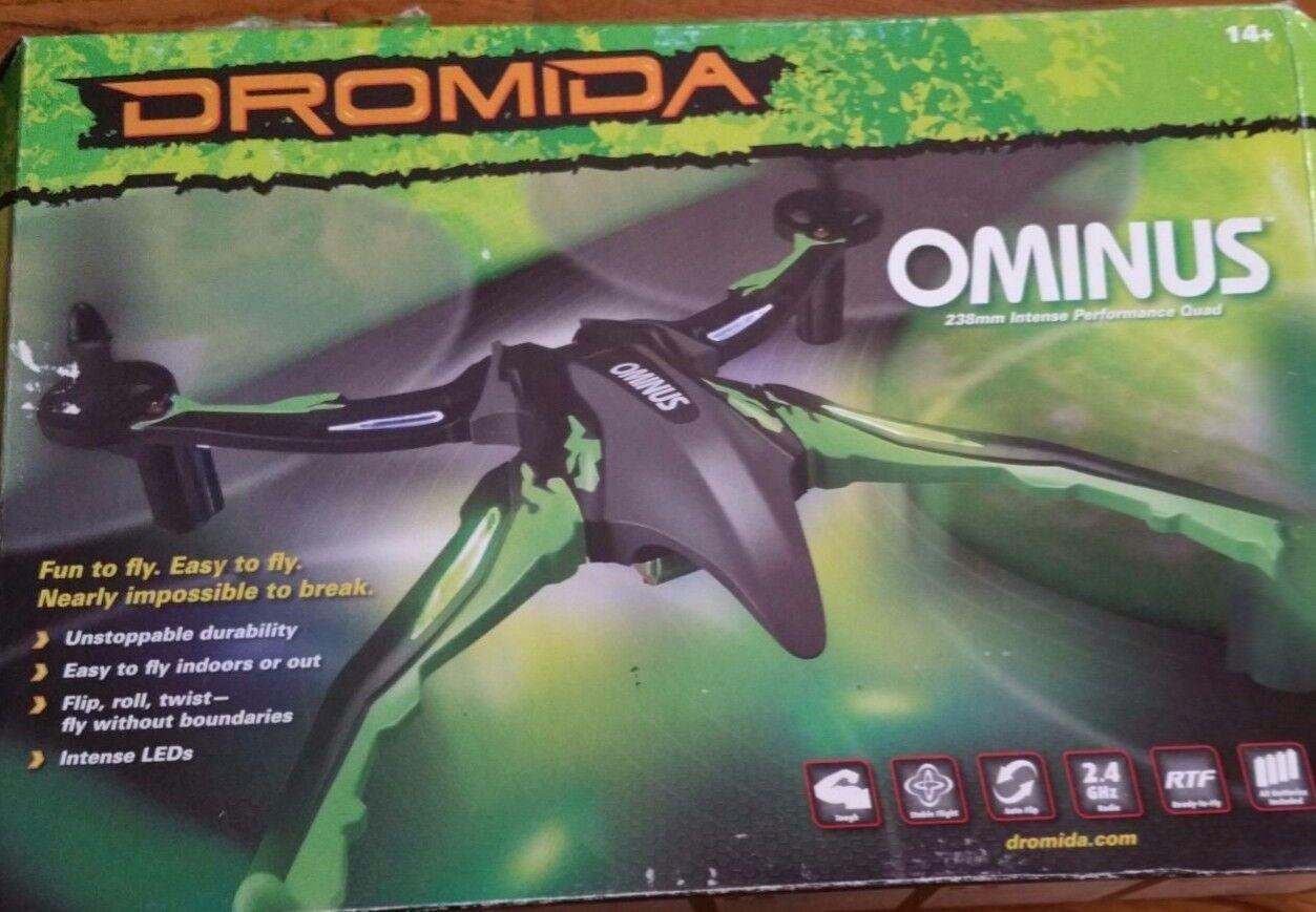 Dromida - Ominus UAV Drone Quadcopter, all colors, Brand Nuovo RTF,  DIDE01BB