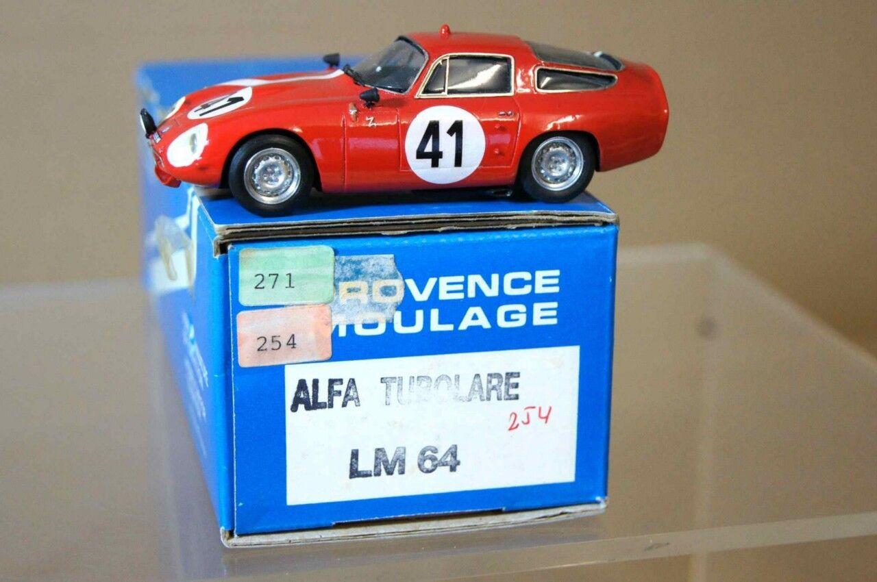 PROVENCE MOULAGE 1964 ALFA ROMEO GTZ LE MANS 41 ar