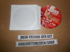 CD Pop Jones feat Fabrizio - Sound Of Life (2 Song) Promo SPECTRE UNIVERSAL