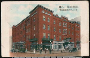 Image Is Loading Hagerstown Md Hotel Hamilton Vintage 1920 039 S