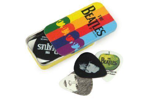 Planet Waves Beatles Signature Guitar Pick Tins Stripes