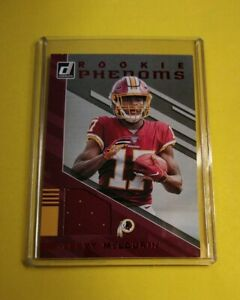 Terry-McLaurin-Washington-Redskins-2019-Donruss-Rookie-PHENOM-Jersey-Card-29-WOW