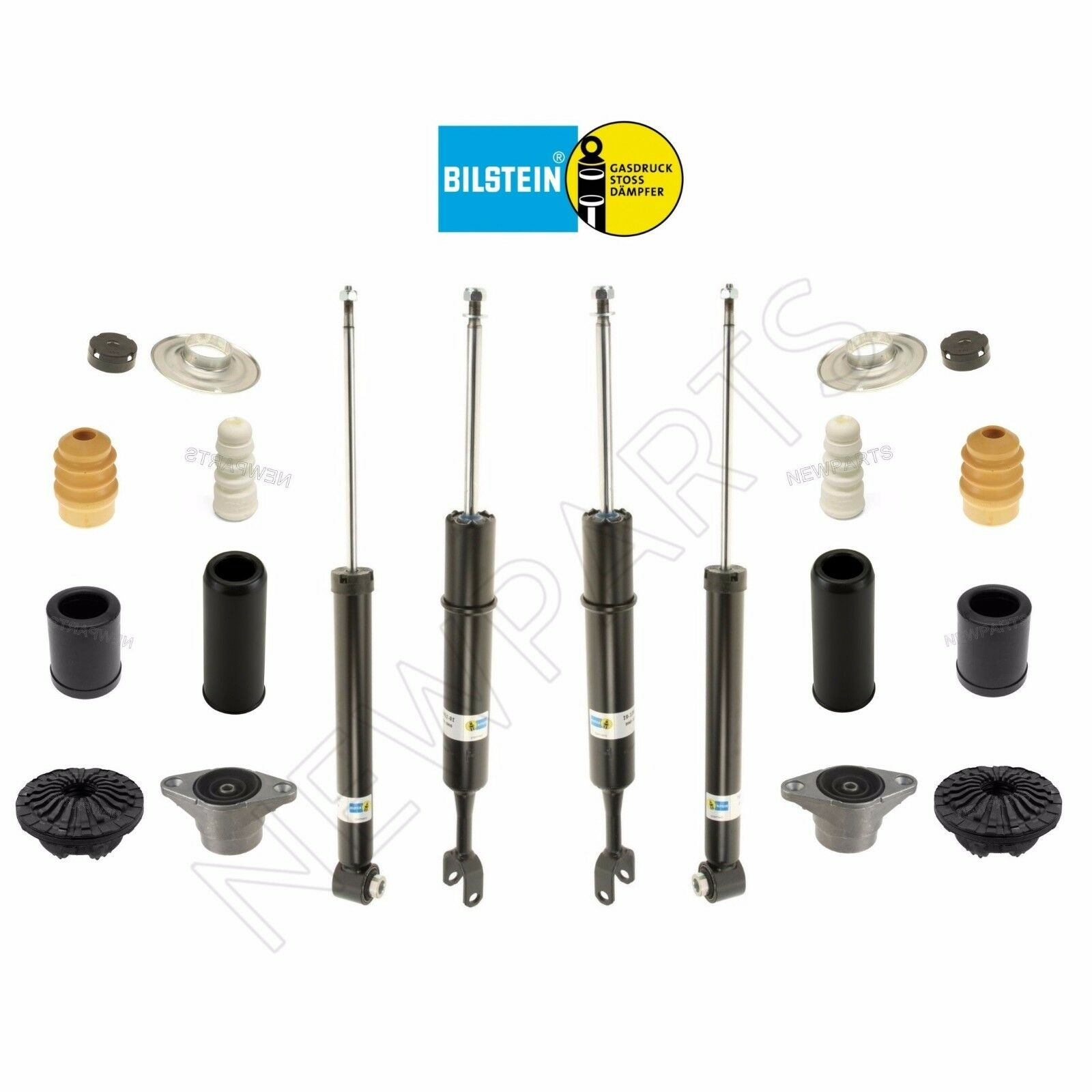 New Bilstein TC Shock Absorber Front 19109497 Audi A4 A4 Quattro