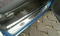 94-98 Mazda Lantis Astina 323f Protege Ba Scuff Plates Doorsills Stainless Steel