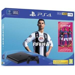 SONY Console Playstation 4 1 TB F + FIFA 19