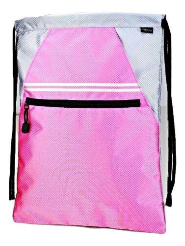 """Large 18/"""" Designer Drawstring cinch sack  backpack  sport Pack bookbag Tote bag"""