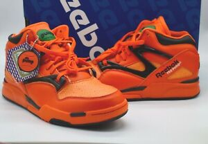 reebok pump orange