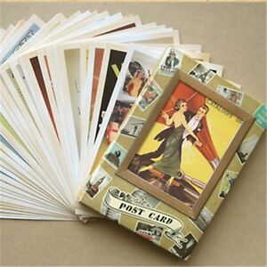 Lot-of-32-Postcard-Vintage-Slogan-Poster-Photo-Picture-Poster-Post-Cards