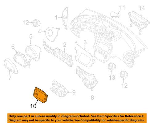 SMART OEM 16-17 Fortwo Instrument Panel Dash-Bezel 4536809503