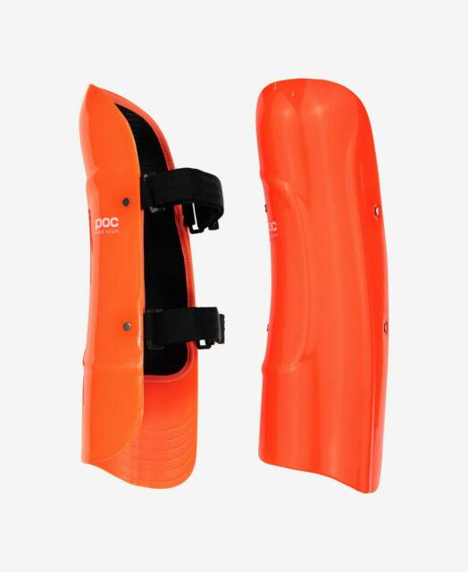 POC Junior Classic Shin Guard Race Protection Orange NEW!
