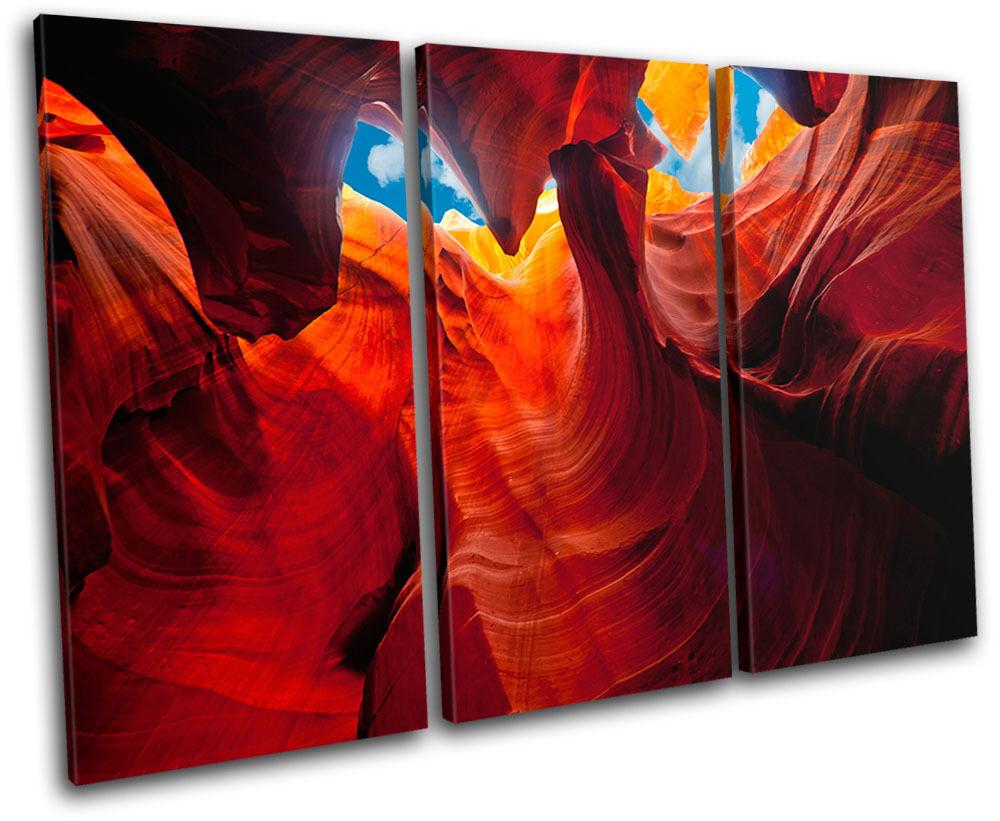 Arizona Caves Antelope Canyon Sandstone USA Canvas Art Art Art Picture Print Wall Photo 9b66f6