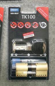 Bombin Tesa TK100 Alta Seguridad 30x40 dorado