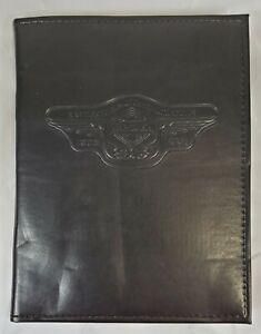 Harley Davidson 1998 95th Anniversary Black Touring Log Book Photo Album Vintage