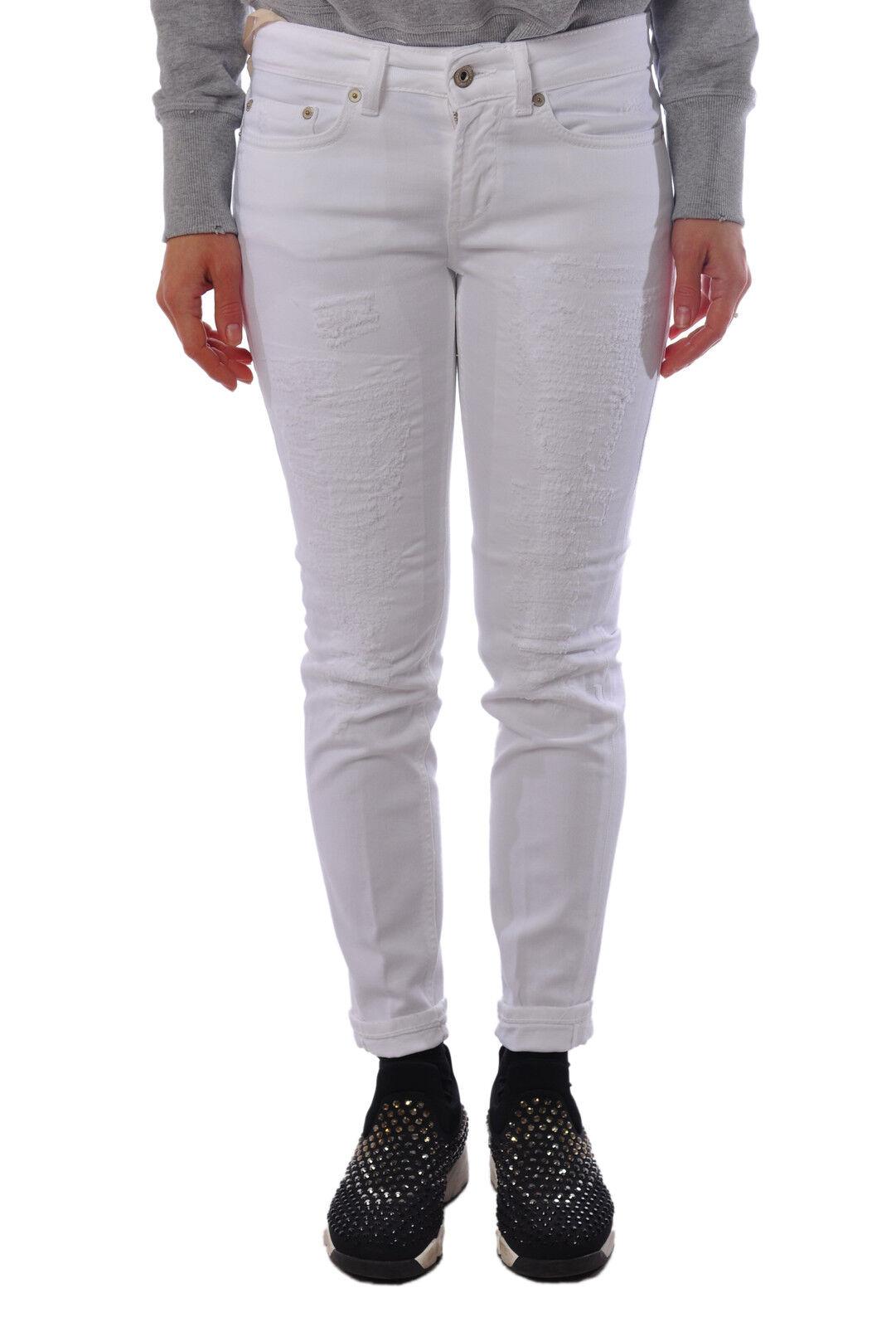 Dondup  -  Pants - Female - 27 - White - 1325804B160728