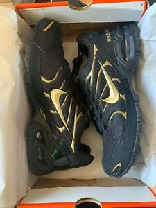 NEW-NIB-Men-039-s-Nike-Air-Max-Torch-4-Shoes-Invigor-Reax-Black-Gold-Size-10-5