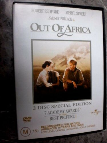 1 of 1 - Out Of Africa (DVD, Region 4, 2-Disc Set) GM3