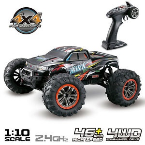 Hosim-RC-Car-1-10-Scale-4WD-2-4Ghz-Off-road-Remote-Control-Monster-Truck-Red