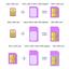 thumbnail 2 - Jethro SIM Card Adapter 4 in 1 Nano Micro Mini SIM Card Adapter Kit Converter