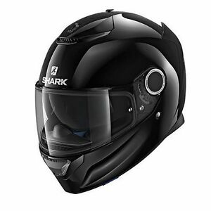 NEW-SHARK-Helm-Spartan-schwarz-glaenzend-Gr-M-57-58-Sonnenblende-statt-299-95