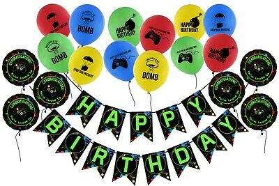 Buy Pantide Level 13 Video Game Happy Birthday Backdrop Banner Level Up Birthday Party Decorations Supplies Game Controller Balloon Banner Background Game On Party Large Poster Accessory 6 6 X 3 8ft Online In