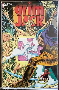 Grim-Jack-Vol-1-23-VF-1st-Print-First-Comics
