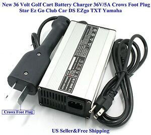 New 36 Volt Golf Cart Battery Charger 5A Star Ez Go Club Car DS EZgo Golf Cart Ez Go Chargers Best Of New Volt Battery Charger V Star Club Ezgo Jpg on