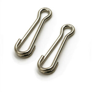 100 x size 2 American Snap Swivels for Quick Change