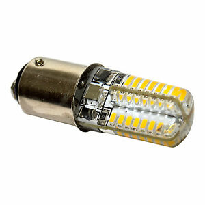 HQRP Bombilla LED 110V 3W BA15d para Pfaff 130-7570