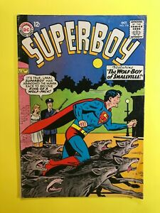 SUPERBOY-116-featuring-Wolf-Boy-of-Smallville-DC-Silver-Age-1964