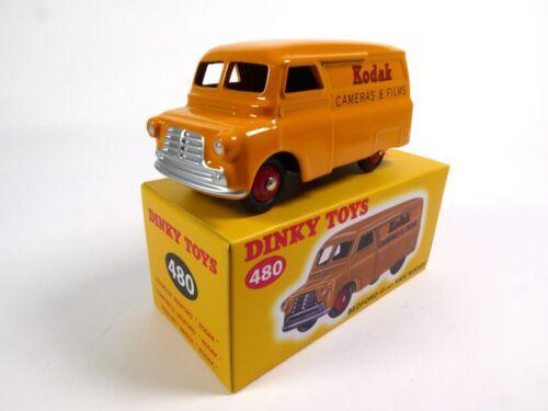 DINKY TOYS DeAgostini  MODELLAUTO CAR DIECAST 480 Bedford 10 cwt Van Kodak