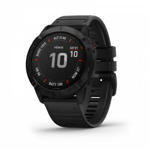 Garmin-fenix-6X-Pro-GPS-Multisport-Watch-Black-with-Black-Band-010-02157-00