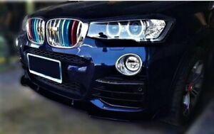 CUP Spoilerlippe für BMW X3 X4 F25 F26 Spoiler Schwert M Paket Tech Neu