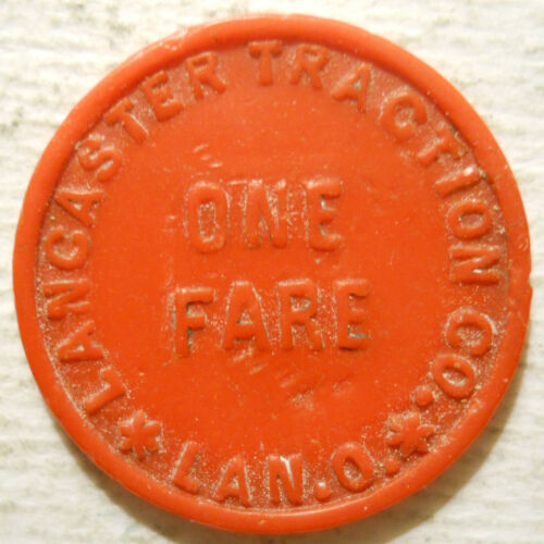 Ohio OH440C transit token Lancaster Traction Company