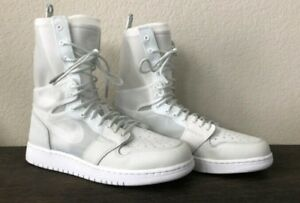 cheap for discount f19ef fe22e Details about Nike Air Jordan 1 Retro High Explorer XX SZ US 9.5 Off White  AJ1 AO1529-100